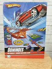 Fundex Hot Wheels Dominoes Matching Game Factory Sealed