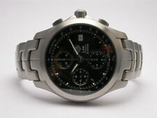 TAG HEUER LINK CHRONOGRAPH STAINLESS STEEL AUTOMATIC MENS WATCH STYLE #CJF2110