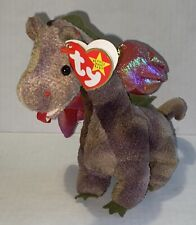 NEW Ty Beanie Baby SCORCH The Dragon Handmade Rare 1998Vintage
