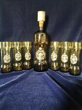 Pelae Coat of Arms Decanter with 6 Glasses