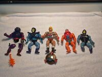 Lot of 5 Vintage MOTU Masters of the Universe He-Man Figures See Description