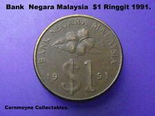 Bank Negara Malaysia  Ringgit $1 Dollar1991.AH2452.