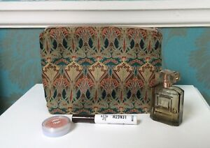 "Handmade Liberty Fabric ""Bronze Ianthe"" Make up Bag"