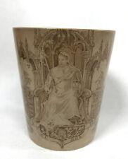 More details for antique queen victoria diamond jubilee doulton burslem 1897 beaker made england