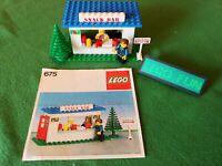LEGO® Set 675 Kiosk + Bauanleitung / Snack Bar + instruction vintage legoland