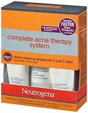 Neutrogena Advanced Solutions Complete Acne Therapy System US IMPORT