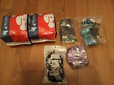dog bundle, doggie diapers, shoes, leash, harness for small dog
