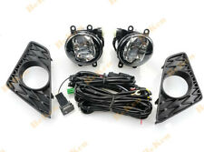for LEXUS GS F-Sport 13 14 15 Front fog lamp LED Bulb Switch Cable Bezel 1set
