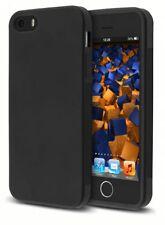 mumbi Hülle für Apple iPhone SE 5 5s Schutzhülle GRIP Case Tasche Cover schwarz