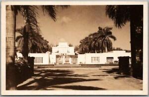 Vintage 1940s LAIE, Hawaii RPPC Real Photo Postcard LDS Temple - Unused