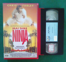 VHS Film Ita Comico MAI DIRE NINJA chris farley COLUMBIA ex nolo no dvd(V103).