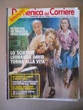 DOMENICA del CORRIERE n°48 1979 Rocky Mattioli Ermanno Olmi Leonardo David [C37]