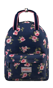 Cath Kidston Dusk Floral Backpack with Hanging Loop Navy Colour