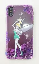NEW iPhone X Disney Tinkerbell Silicon Soft Phone Case