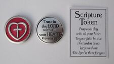 cc Trust in the Lord with all your heart SCRIPTURE POCKET TOKEN Ganz reminder