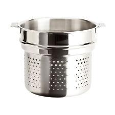 Cristel Casteline Removable Handle - 7 Qt Pasta Basket