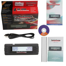 New Trip Computer Scan Tool Turbo Gauge IV Digital Gauge OBD2 Fault Code Reader