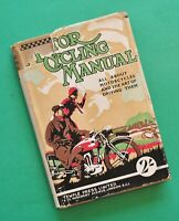 1932 Motorcycle Engineering Manual Book BSA Norton Triumph JAP Vincent Matchless