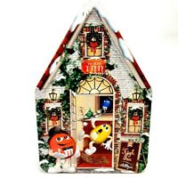 Vintage M&Ms Candy Ye Olde Inn Christmas Village Series Collectible Holiday Tin