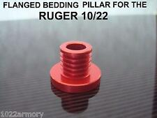 Ruger 10/22 Flanged bedding pillar, aluminum CNC machined and anodized BENCHREST