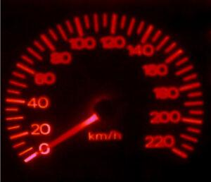 Red LED Dash Light Kit for Nissan Skyline R31 R32 R33 300zx
