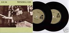 """[BERRY/ BUCK/ MILLS/ STIPE] R.E.M. ~ WENDELL GEE ~ 1985 UK 7"""" DOUBLE PACK + P/S"""