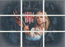 "Buffy Season 7 - FB-1 - 9 ""The Final Battle"" Set of 9 Foil Puzzle Cards"