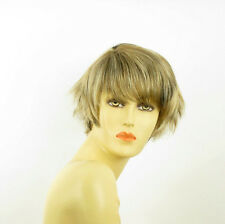 short wig women light blonde copper wick clear and chocolate VALENTINE 15613h4