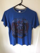 Ed Hardy Kids  T shirt sz Large Blue with Graphics Tattooing