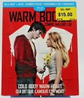 Warm Bodies Blu Ray Preowned