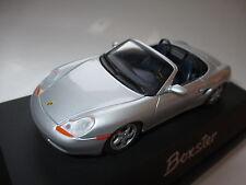 PORSCHE Boxster tipo 986 in argento Argentin silver metallizzato, Schuco WAP 1:43 BOX!