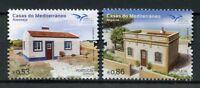 Portugal 2018 MNH Mediterranean Houses EUROMED 2v Set Architecture Stamps