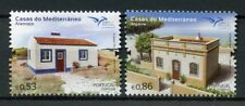 Portugal 2018 MNH Mediterranean Houses EUROMED 2v Set Architecture Stamps