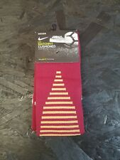 Nike Soccer Matchfit Cushioned Over-The-Calf Socks WMS  Size S 4-6 Burgundy New