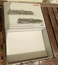 Märklin 37187 Empty Packaging Set 2 x STEAM LOCOMOTIVE S 3/6 Boxed, Box, Box