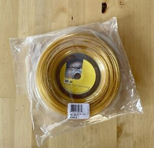 Luxilon 4G 130 / 16 Reel Tennis String - Full 660ft / 200m. Unused and New