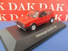 Die cast 1/43 Modellino Auto Volkswagen Golf GTI 1978 rosso