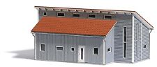 Busch H0 1548 Bâtiment D'usine, Maquettes De Monde Kit De Construction 1:87