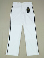Easton Youth Baseball Pants Size L White Black Piped Welt pockets Softball