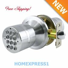 Keyless KeyPad Electronic Digital Code Stainless Steel Security Entry Door Lock