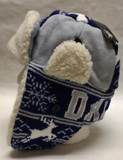 Dallas Cowboys  Team Color City Name Trooper Hat - Warm & Well Made!! WOW!!