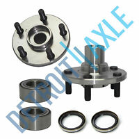Front Wheel Hub and Bearing Pair No ABS for 1981-1991 Toyota Camry