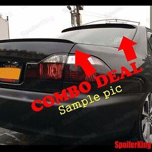 COMBO Spoilers (Fits: Lexus LS430 2001-06) Rear Roof Wing & Trunk Lip