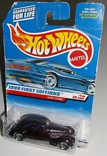Hot Wheels 1999 #649 First Editions #1 of 26 1936 Cord Mtflk Burgundy WSPs