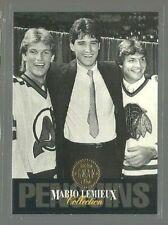 1993-94 Leaf Mario Lemieux #3 Mario Lemieux (ref 63378)