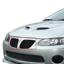 For Pontiac GTO 04-06 APG GR16HEH06J 2-Pc Black Horizontal Billet Main Grille