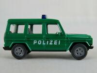 """Wiking 10601 Mercedes-Benz G 350 (1992-1996) """"POLIZEI"""" 1:87/H0 guter Zustand"""