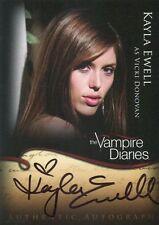 VAMPIRE DIARIES - SEASON 1 - KAYLA EWELL - A16 - Autograph Card - NrMt  BV$35