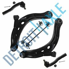 05-09 Ford Escape Mazda Tribute Mariner 6pc Front Lower Control Arm Tie Rod Kit