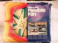 "Flex-a-lite fiberglass Fan Vintage NOS 17"" Chevrolet Pontiac GM AMC Mopar"